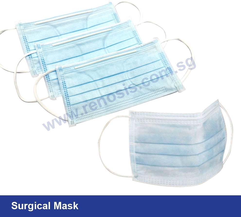 Surgical 3 Ply Mask Supplier in Singapore - Renosis